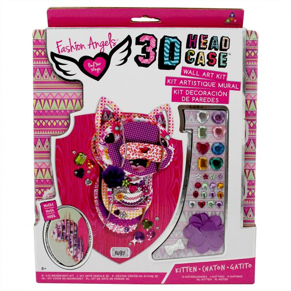 Fashion Angels 3d Kitten Head Case Art Kit 8 Years Above Souq