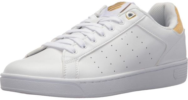 K-Swiss Clean Court CMF Fashion Sneakers for Women - White