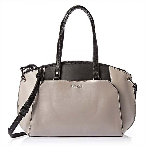 Kenneth Cole Reaction 11wra12kcb Sb Satchels Bags For Women Stonybrook Black Londn Grey