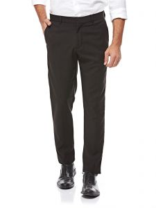 a9226e7443 ICONIC Straight Trousers for Men - Black