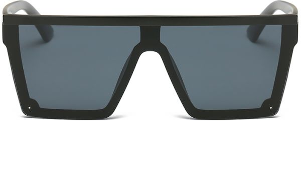 21bde25ad9 DONNA Cool Unisex Oversized Flat Top Sunglasses Square Aviator Shades  D89-YB08(Matte Black)