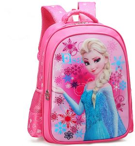 86ff76446b56 Cartoon lovely School Bags For Boys Girls Waterproof Backpacks Child Frozen Book  bag Kids Shoulder Bag Satchel Knapsack qy