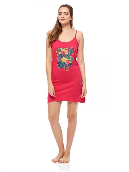 73b546d4f0 Laura D Red Nightgown For Women