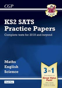 KS2 Complete SATS Practice Papers Pack: Science, Maths & English (for the 2018 tests) - Pack 2