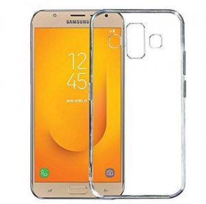 5f701fb3e84 Samsung Galaxy J7 Duo TPU Silicone Soft Thin Back case Cover - Clear By Muzz