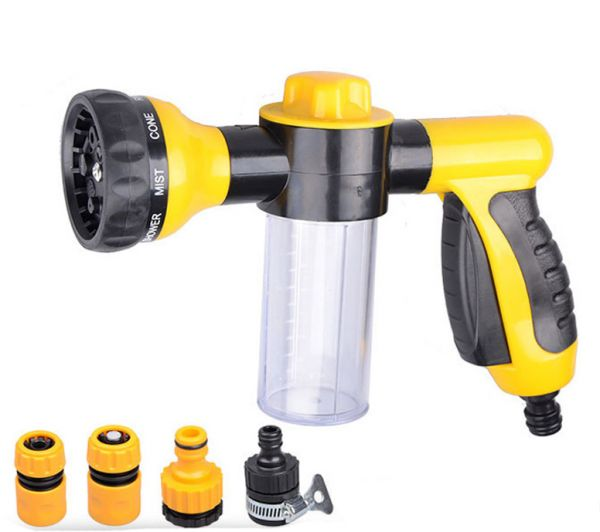 High Pressure Auto Car Water Cannon Pressure Washer Gun Washing Foam Gun
