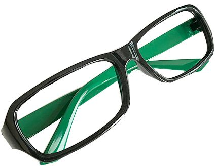 4fa68bad7d Children s plastic frames without glasses-YJK Green Children Stylish ...