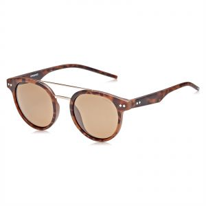 177d86a2cf Polaroid Round Sunglasses for Women - Brown Lense
