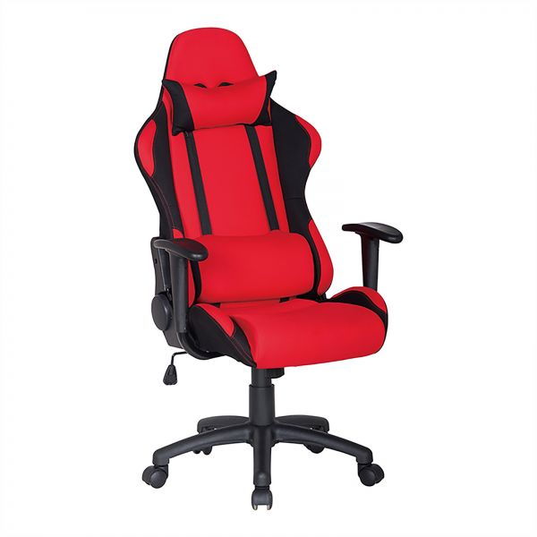 Racoor Video Gaming Chair Red And White 134h X 71w X 71d Cm