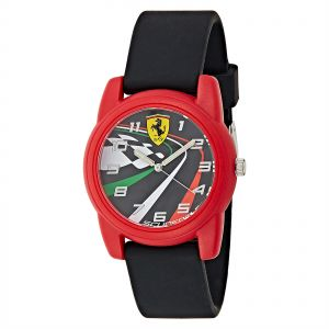 Ferrari Casual Watch For Men Analog Silicone - 810009 071af0d90beb9