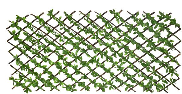 Home Accessories Artificial Green leaves Fence