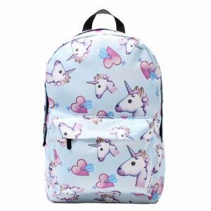 a38ac7e542a7 Unicorn Backpack Women Printed School Bags For Teenage Girls Shoulder  Drawstring Bags Travel Students Polyester Cute Women Girl School Shoulder Bag  Backpack ...