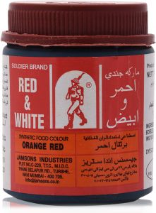 Soldier Orange Red Synthetic Food Color - 100 gm : Buy ...