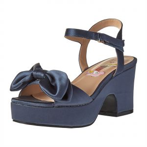 19506e1d369d Elle Wedge Sandals for Girls - Navy