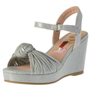 bba19ad4b952 Elle Wedge Sandals for Girls - Silver