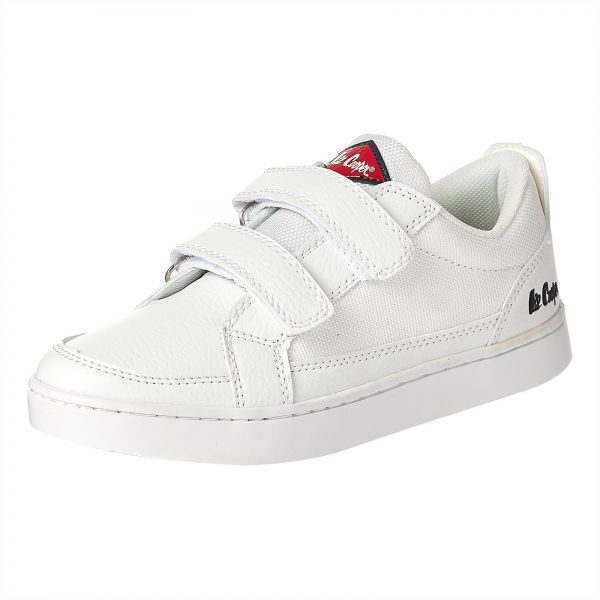 d98757d5f0d5 Lee Cooper Velcro Shoes for Boys - White