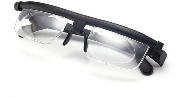 e94fb15495 Zoom Reading Glasses Glass Focus Magnifying Adjustable lens Reading Glasses  for men women Myopia Eyeglasses -6D to +3D Diopters Magnifying Variable ...