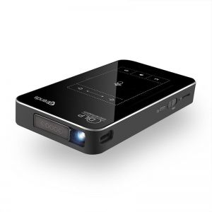 Etrends T18 DLP Portable Mini Smart Video Projector Android 7.1 with 120 inch Display Mobile Mirroring Projector