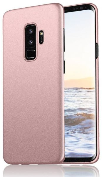 buy popular ad1cd 93d2e Samsung Galaxy S9 PLUS case Matte Shockproof cover by Meidom - Rose Gold