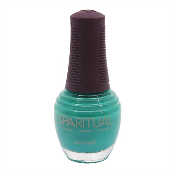 SpaRitual Close Your Eyes Emerald City Nail Lacquer, Rich Green ...