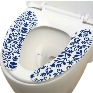 Phenomenal Toilet Seat Covers Sticky Washable Toilet Seat Pads Antibacterial Warmer Bathroom Toilet Seat Cushion Pdpeps Interior Chair Design Pdpepsorg