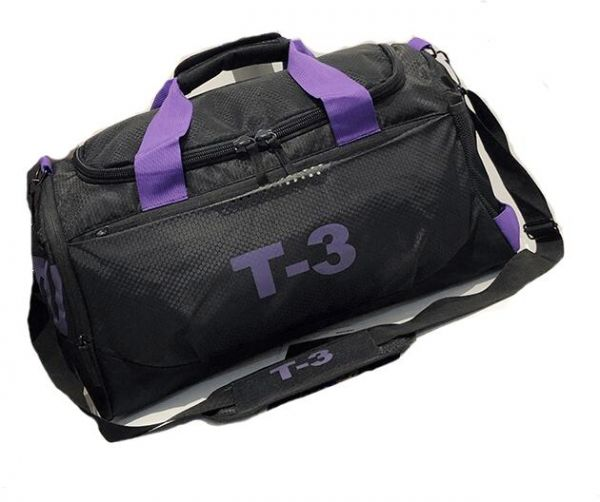 12029190b3a7 Sports Gym Bag With Shoes Compartment Travel Duffel Bag For Men And ...