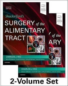 Shackelford's Surgery of the Alimentary Tract (2-Volume Set) (Shackelfords Surgery of the Alimentary Tract)