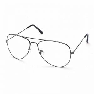 2f4ac67f18773 Female Classic Eyeglasses Transparent Clear Lens Optical Women Men glasses  Pilot Style