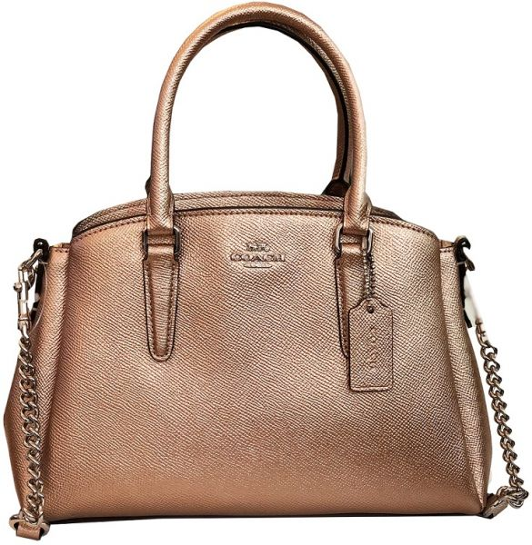 f907d274ed81 COACH MINI SAGE CARRYALL FOR WOMEN - Rose Gold