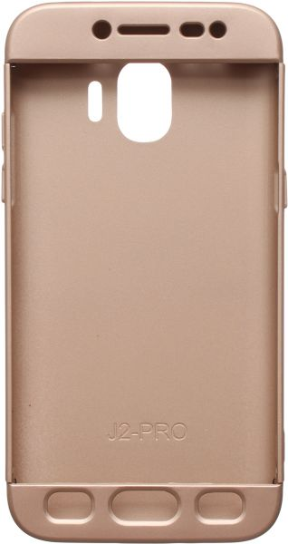 online store 40e76 f1230 iPaky 360 Full Cover for Samsung Galaxy J2 Pro 2018, Gold | KSA | Souq