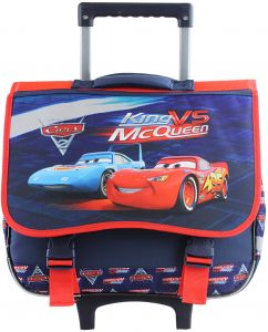 Mqueen Kids  Rolling School trolley Backpack for 3-12years old 7d07166c8137c