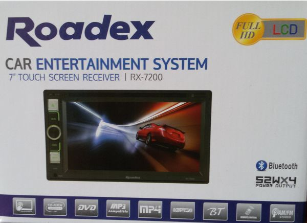 Roadex RX7200 Car Dvd Audio 7 Inch Touch Screen Receiver