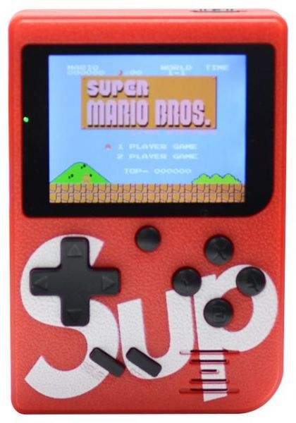 """Handheld Game Console for Children,Retro Game Player with 2.5"""" 8-Bit LCD Portable Video Games,The 80s Arcade Video Gaming System,Built-in 129 Classic Old School Games Entertainment-Red"""