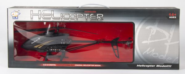 Donghuang Remote Control Helicopter for boy , Black Helicopters Toys for  Boys