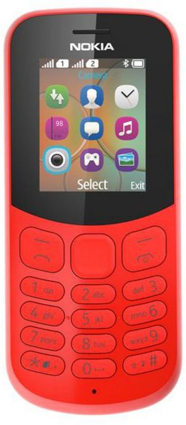 NOKIA 130 Series 30 RED 2017