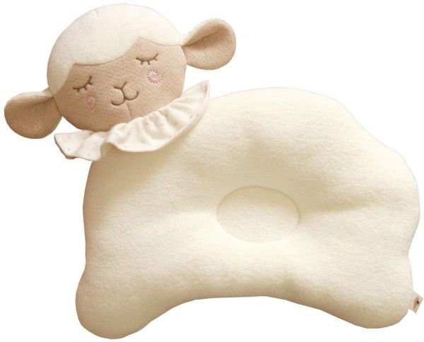 Newborn Infant Prevent From Flat Head Toddle Baby Head Support Pillow  sheep