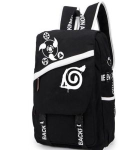 82e1e312c076 School game bag Anime Naruto large capacity canvas backpack Fanny business  bag oblique messenger bag leisure bag Students love bags computer bags  tablet ...