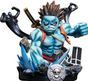 One Piece Monkey D Luffy Nightmare Form Luffy Painted Figure Boxed Model