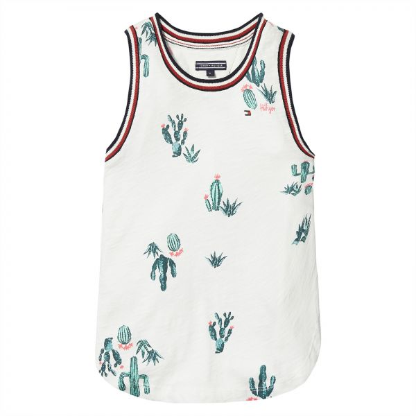 636e9b43f6f0a0 Tommy Hilfiger Tank Top for Girls - White