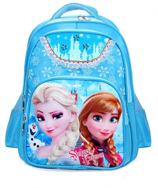 5a3e7829972 Frozen Elsa School Backpack Blue for 2-7years Kids Children s Choolbag BLUE