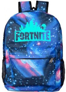 7a875c717ee Fortnite designer classic cool School Noctilucent Luminous Bookbag backpack  Travel Rucksack Fits up to 17 inch Laptop Bag for men