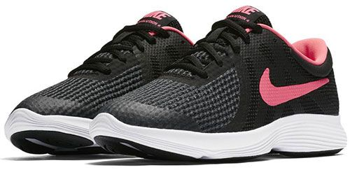 fa76155f473a08 Nike Revolution 4 Grade Sports Sneakers For Girls - Black Pink ...