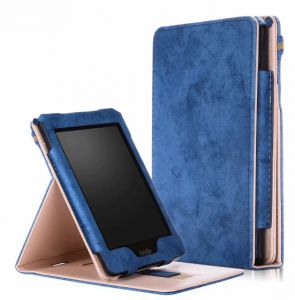 Flip Magnet Stand Folio Cover for Amazon kindle paperwhite1/2/3 case Shell Card Hand Strap