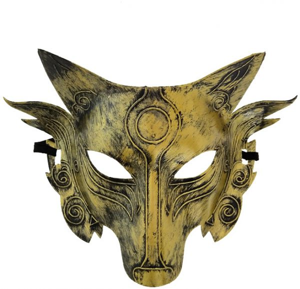 bce62073afd9 Halloween Christmas Party Game Wolf Mask Masquerade Horror Funny ...
