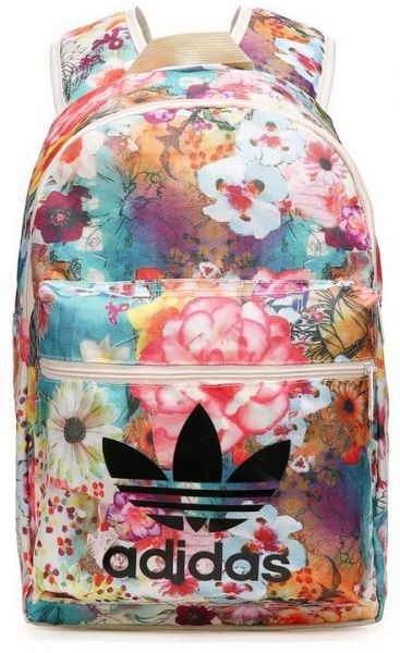 02c9551e1d10 Adidas Originals Floral Print Backpack