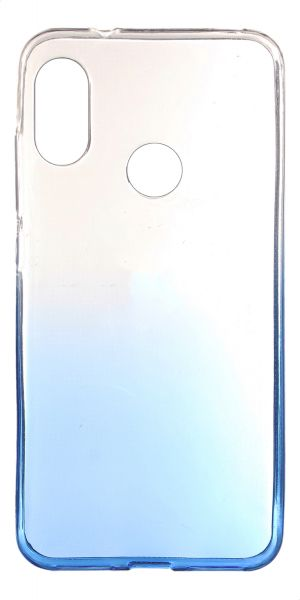 info for d58c5 3161b Back cover for Xiaomi Mi A2 Lite, Clear Blue