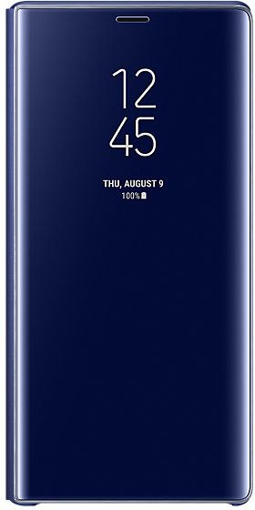 quality design 85610 92772 Samsung Galaxy Note 9 Clear View Standing Cover Blue