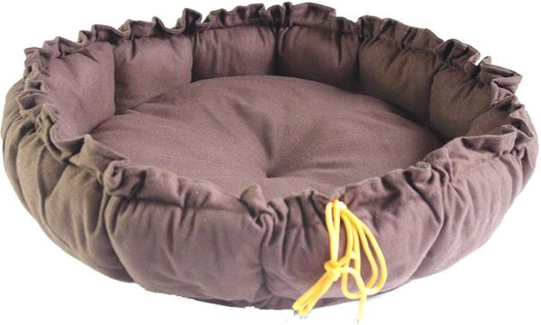 Size S Soft Pet Waterloo Beds Warmer For Small Medium Large Dogs Cats Pumpkin Cushion Pad Nap Futon Thick Mat Bedding Coffee