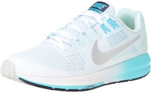 Nike W Nike Air Zoom Structure 21 Running Shoes For Women - White