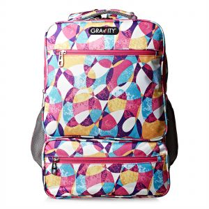 019ffe3c6d Gravity 18.5 inch Wide Flowers Backpack - Polyester